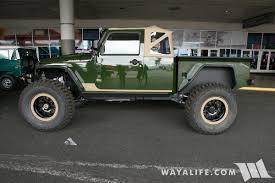 jeep truck conversion 2016 sema bruiser conversions jeep jk wrangler pickup truck