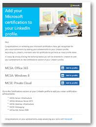 How To Add My Resume To Linkedin Announcing A New Way To Add Microsoft Certifications To Your