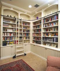 furniture marvelous library room design with big l shaped
