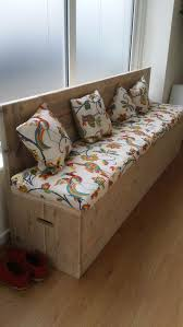 Bedroom Bench With Back Best 25 Bed Bench Storage Ideas On Pinterest Padded Storage