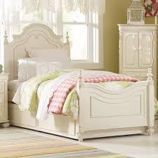 Queen Bed Frame With Twin Trundle by Full Low Poster Bed With Trundle Unit By Legacy Classic Kids