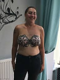 leeds breast cancer survivor has bra tattooed on chest daily