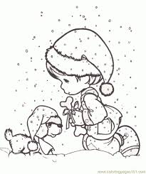 precious moments christmas coloring pages with regard to really