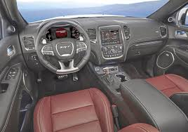 dodge durango interior 2016 scott sturgis u0027 driver u0027s seat a fun and fast ride but a few