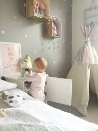 d orer chambre fille chambre enfant étoiles blanc doré kidsroom white gold
