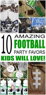 football party favors party favor ideas