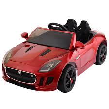 gym equipment kids baby ride on toy car jaguar f type 12v battery