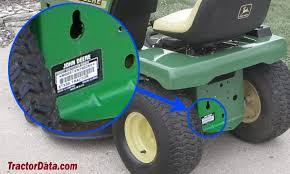tractordata com john deere stx38 black deck tractor information