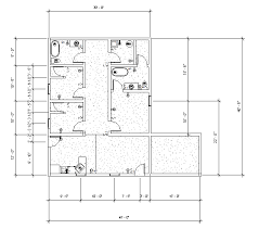 dimensioned floor plan 2 3 1 affordable housing design madeline farkus