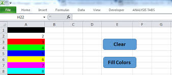 change background color of cell range in excel vba analysistabs