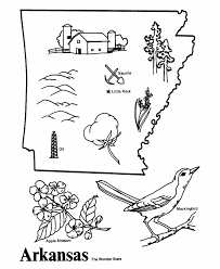united states symbols coloring pages oklahoma state outline coloring page free worksheets pinterest