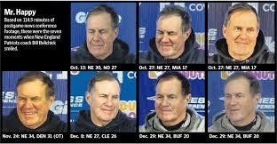 Bill Belichick Memes - bill belichick smiled seven times this season new england patriots