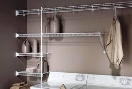 best laundry room shelving organization ideas