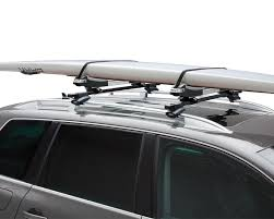 How To Install Roof Rack On Honda Odyssey by Two Stand Up Paddleboard Racks For 2010 Toyota Fj Cruiser Roof