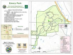 Map Of Ohio State Parks by Emery Park Erie County Parks Recreation And Forestry