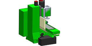 3d milling machine cnc milling machine 3d model cgtrader