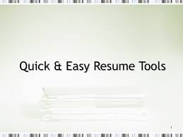 quick resume tips resume writing tips