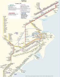 Sydney Map Metro Map Of Sydney Metro Maps Of Australia U2014 Planetolog Com