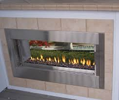 Sided Outdoor Fireplace - superior berlin lights 44