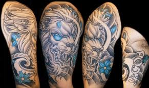 half sleeve color design ideas images and