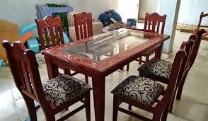 Bastar Art Wooden Furniture Woodkart Handicrafts Raipur - Art dining room furniture