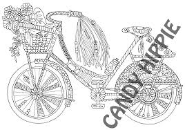 bicycle candyhippie coloring pages
