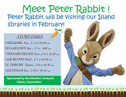 rabbit library storytime with rabbit west tisbury library