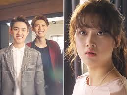 para pemain film exo next door exo next door chanyeol vs d o siapa yang dipilih moon ga young