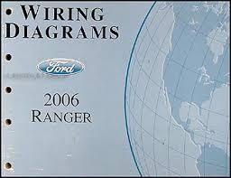 2006 ford ranger wiring diagram manual original