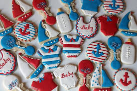 nautical baby shower nautical baby shower cookies cookie connection