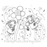 fairy coloring pages familyfuncoloring