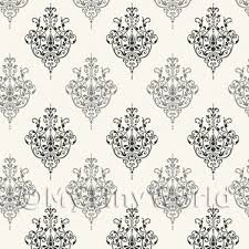 wallpaper for house dolls house miniature wallpaper dolls house miniature black on