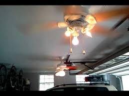 Car Ceiling Fan by My Garage Ceiling Fans Youtube