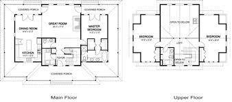 Post And Beam Floor Plans Dundarave Custom Retreats Cottages Cedar Homes Cedar House Plans