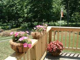 creative deck planters landscaping u0026 backyards ideas