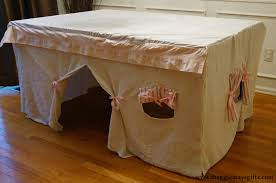 ideas for kitchen tables kitchen table fort for maggie may s