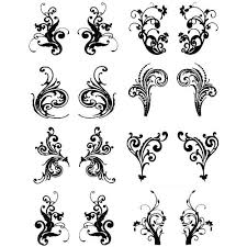 easy tattoo designs henna look water transfer tattoos six bold
