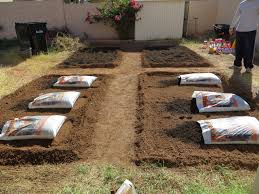 how to build a backyard garden part 2 dally u0027s vintage days