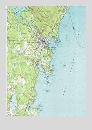 map of camden maine camden me topographic map topoquest