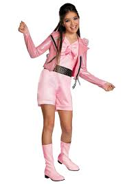 Motorcycle Rider Halloween Costume Girls Teen Beach Lela Biker Deluxe Costume