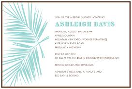 wedding gift no registry bridal shower invitation wording with no registry bridal shower