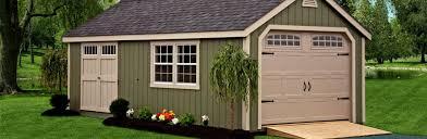 Shed Overhead Door Prefab Garages Amish Made Prefab Garages For Sale Cape Cod Garage