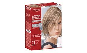 see yourself in different hair color couleur experte at home hair color highlights kit l oréal paris