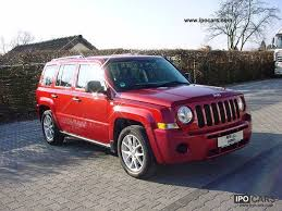 jeep patriot 2 0 crd 2008 jeep patriot 2 0 crd car photo and specs