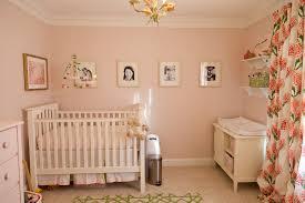 Nursery Pink Curtains Blushing Pink Nurseries Project Nursery