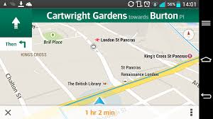 Google Maps Routing by Best Android Satnav Apps Smartphones And Tablets Tech Advisor