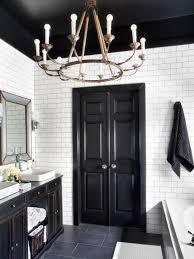 timeless black and white master bathroom makeover bathroom ideas