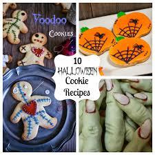 10 halloween cookie recipes fun home things