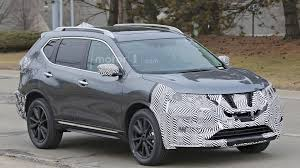 nissan rogue 2017 2017 nissan rogue facelift spied with a murano inspired grille