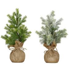 tabletop artificial trees